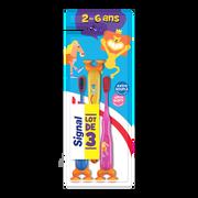 Signal Brosses À Dents Enfant 2/6 Ans Signal, Extra Souple, X3