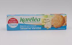Biscuit gourmand sésame vanille