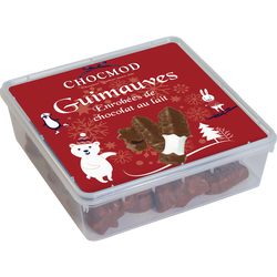 Guimauves chocolat lait Noël CHOCMOD, 400g