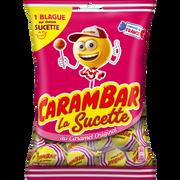 Carambar Sucettes Caramel Carambar, Sachet 156g