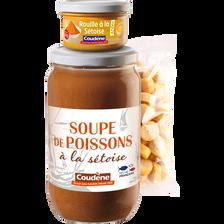 Coudène Soupe Poisson 780g + Rouille 90 + Croutons Nature 100g , 970g