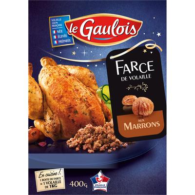 Farce aux marrons, SAVEURS FORESTIERES, 400g