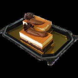 Croustillant aux 3 chocolats, L'ATELIER GEORGET, 2 pièces, 220g