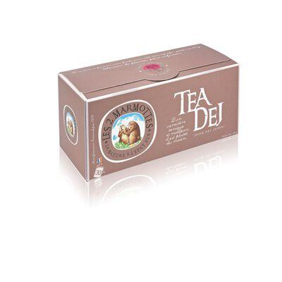Thé noir assam Tea Dej LES 2 MARMOTTES, 30 sachets soit 45g