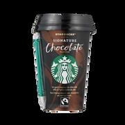 Starbucks Boisson Lacté Signature Chocolate Lait Stérilisée Uht Starbucks, Cup De 220ml