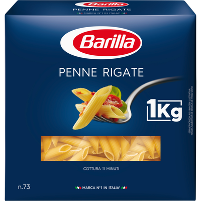 Penne rigate BARILLA, 1kg