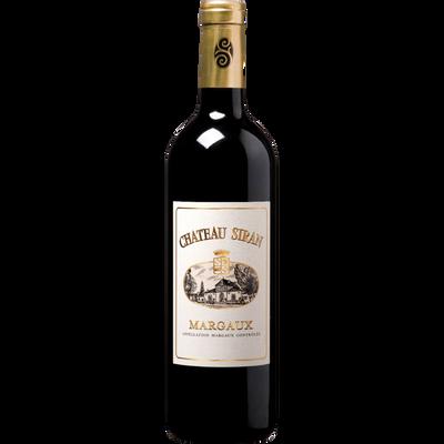 Vin rouge AOP Margaux Château Siran, caisse en bois 6x75cl