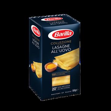 Barilla Lasagnes À Garnir Aux Oeufs La Collezione Barilla, Étui De 500g