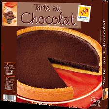 Tarte au chocolat Pierron 400g