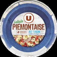 Salade thon piémontaise pêché à la ligne U, boîte de 250g