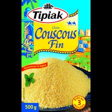 Graines de couscous fin TIPIAK, paquet de 500g