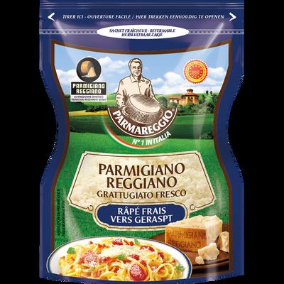 Parmigiano Reggiano DOP râpé au lait cru 30% de matière grasse PARMAREGGIO, 60g
