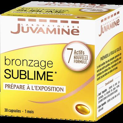 Capsule bronzage sublime 7 actifs JUVAMINE, x 30