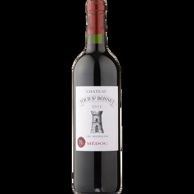 """Vin rouge AOC Médoc cru bourgeois""""Château Tour Saint Bonnet"""" 6 bouteilles de 75cl"""