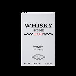 Eau de toilette homme sport Whisky EVAFLOR, 100ml