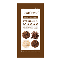 TOOGOOD biscuits cacao 18 biscuits 125g