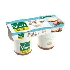 Yaourt au lait de brebis et châtaigne BIO VRAI, pack de 250g