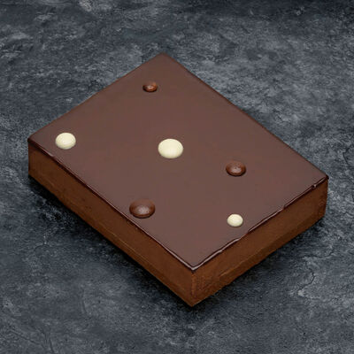 Croustillant chocolat, 8 parts, 920g