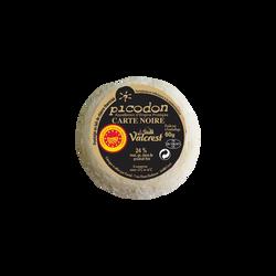 Picodon AOP Carte Noire lait cru de chèvre 24% de MG, VALCREST, 60g