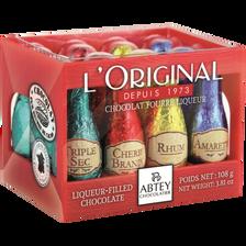 Abtey Chocolats Fourrés Liqueurs Assorties , Casier De 108g