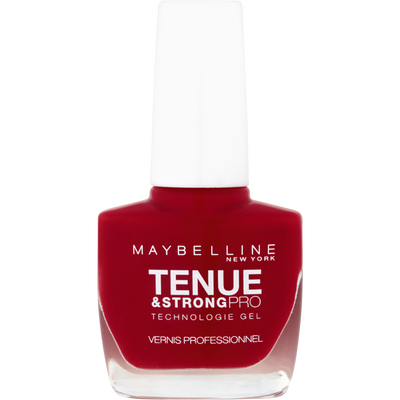 Vernis à ongles tenue & strong 06 rouge profond MAYBELLINE, nu
