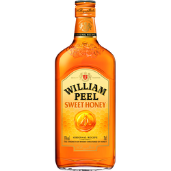 Scotch whisky honey, WILLIAM PEEL, 35°, bouteille de 70cl