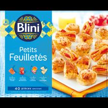 Les petits feuilletés BLINI, paquet de 350g