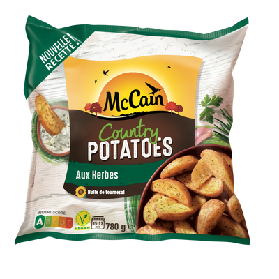Country potatoes MC CAIN, sachet de 780g