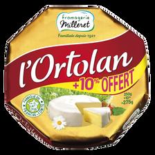 Paysange Fromage Pasteurisé L'ortolan 29% De Matière Grasse Fromagerie Milleret, 250g + 10% Offert