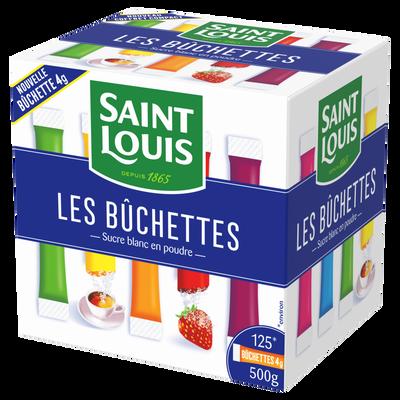 Bûchette sucre poudre SAINT LOUIS 4g x 125 doses