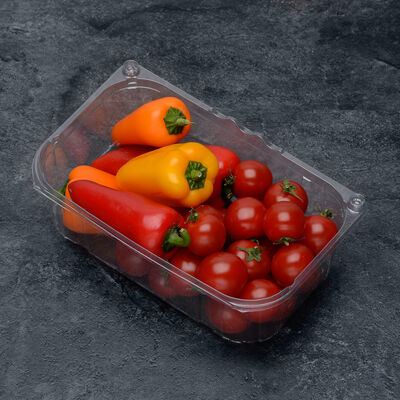 Bbq party(mini poivrons,tomates cerises),SAVEOL, France, barquette 400g