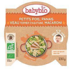 Assiette Patate douce Châtaigne Pintade fermière BABYBIO dès 12 mois 230g
