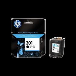 Cartouche d'encre HP pour imprimante, CH561EE noir n°301, sous blister