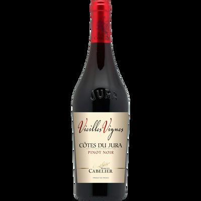 """Vin rouge AOP Côtes du Jura Pinot noir """"Domaine vieilles vignes Cabelier"""""""