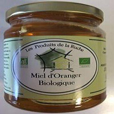 MIEL D'ORANGER BIOLOGIQUE 375GR