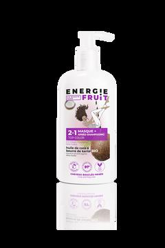 Energie Fruit Masque Soin 2en1 Parfum Coco Et Huile De Karité Energie Fruit, Pompe De 300ml