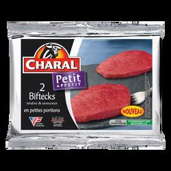 Steak de boeuf ***, à griller mini, CHARAL, France, 2 pièces