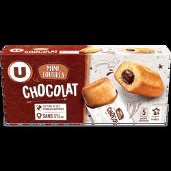 Mini gateaux fourré chocolat U, paquet de 150g