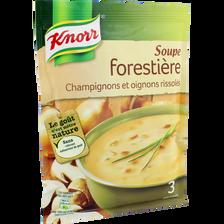 Soupe déshydratée forestière KNORR, 85g, 75cl