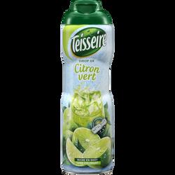 Sirop de citron vert TEISSEIRE, bidon de 60cl