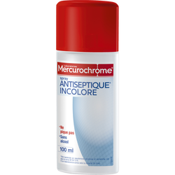Spray antiseptique MERCUROCHROME, 100ml