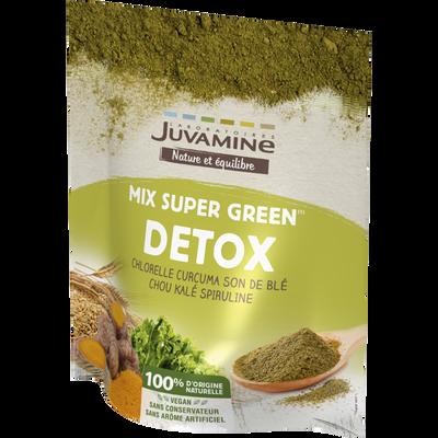JUVAMINE MIX SUPER GREEN DÉTOX, poudre, 200 g