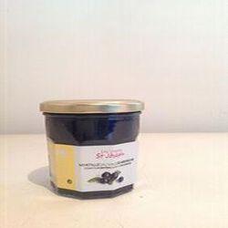 Confiture extra cuite au chaudron de myrtilles sauvages d'Ardèche 350g