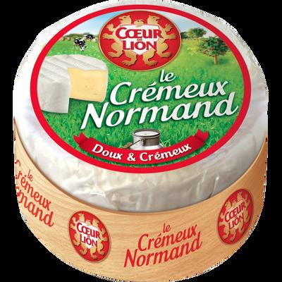 Fromage pasteurisé Le Crémeux Normand, 30%mg, COEUR DE LION, 200g