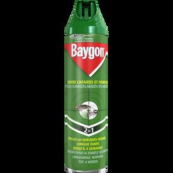 Insecticide anti-rampants BAYGON, aérosol de 400ml