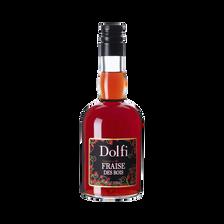 Liqueur de fraise des bois DOLFI, 18°, bouteille de 50cl