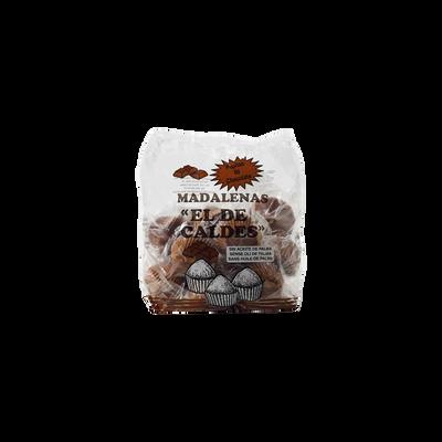 Madeleines chocolat EL DE CALDES, 500g