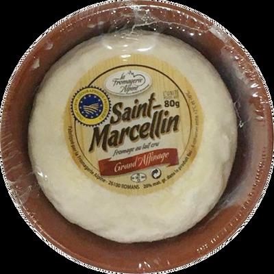 Saint-Marcellin, au lait cru, 20% Mat.Gr.,coupelle céramique, 80g
