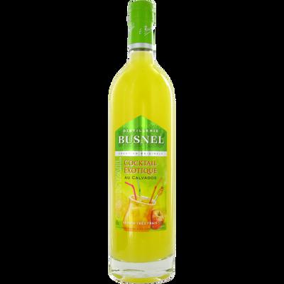 Cocktail exotique au Calvados 18° BUSNEL,  bouteille de 70cl