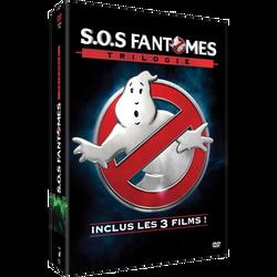 Coffret dvd Sos fantômes-la trilogie
